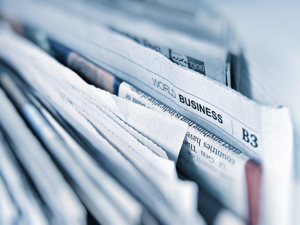 Des journaux d'actualités