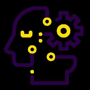 Icone algorithme intelligence artificielle