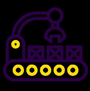 Icone machine automatique