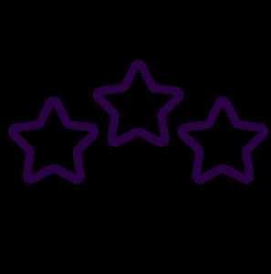 Icone note étoiles