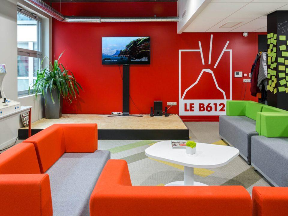 L'incubateur B612 de Lyon accueillant des Fintech